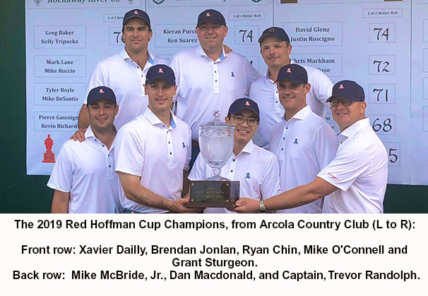 Arcola's Hoffman Cup Champions